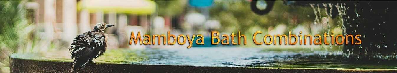 Mamboya Blütenmischungen für das Bad