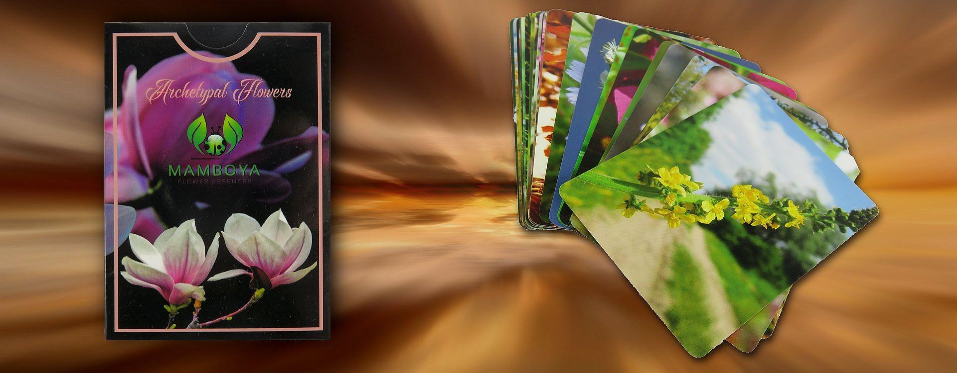 Card set Archetypical flower essences