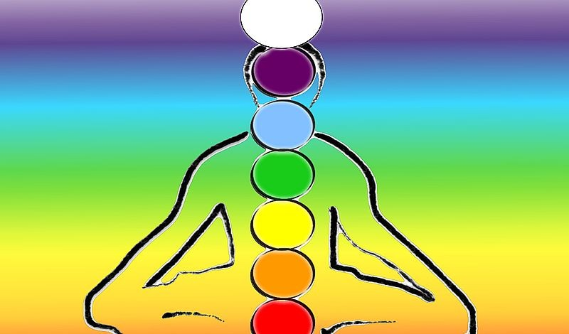 The chakras can be stimulated by combining certain flower essences